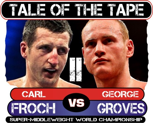 froch-groves 2 tale of the tape