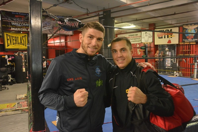 Brian Rose and Scott Quigg