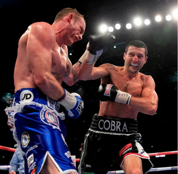 froch groves 2 finishing punch right hand