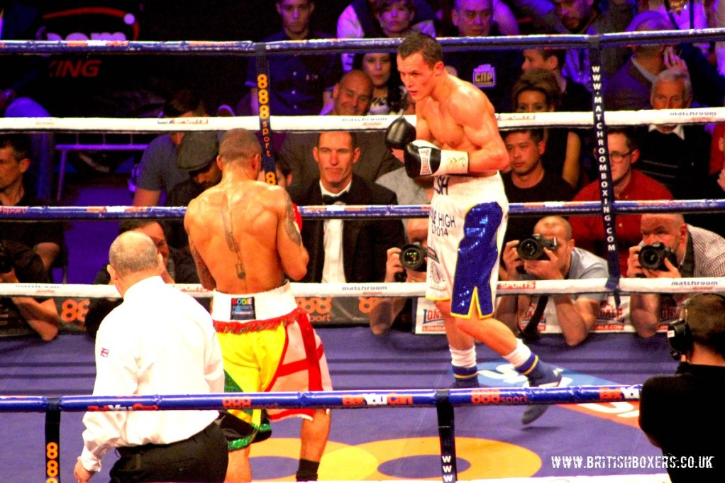 josh warrington v munroe