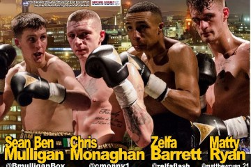Fight Posterblack flash promotions
