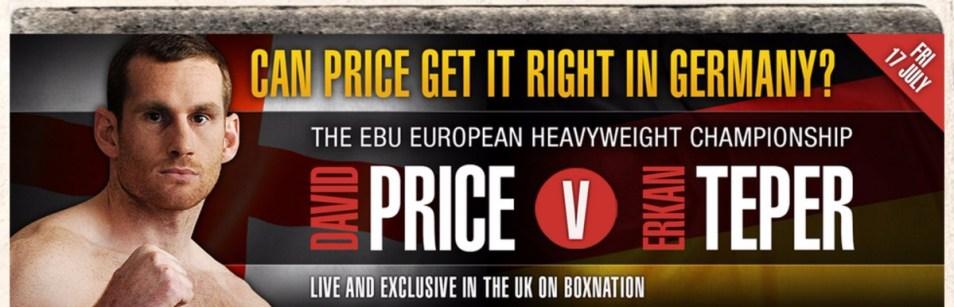 david price on boxnation