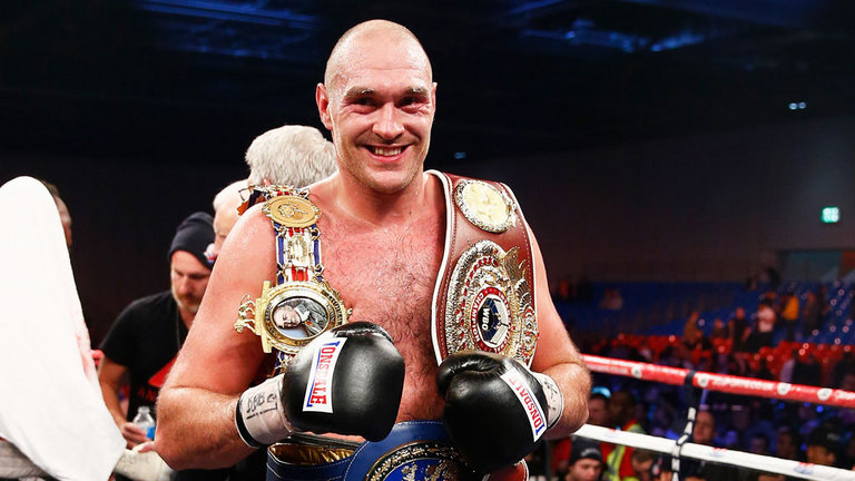 Fury  - Title shot postponed