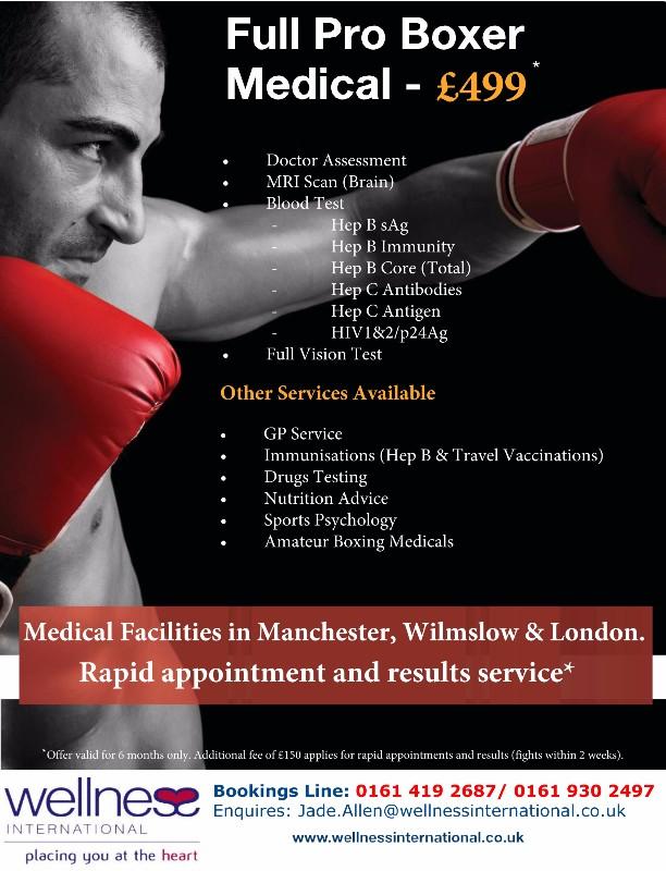 Bridgewater Boxing Medicals 2