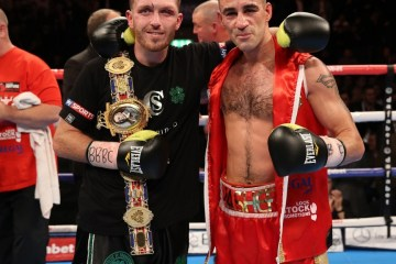 WHOS FOOLING WHO PROMOTION ECHO ARENA,LIVERPOOL CRUISERWEIGHT CONTEST SCOTTY CARDLE V SEAN DODD