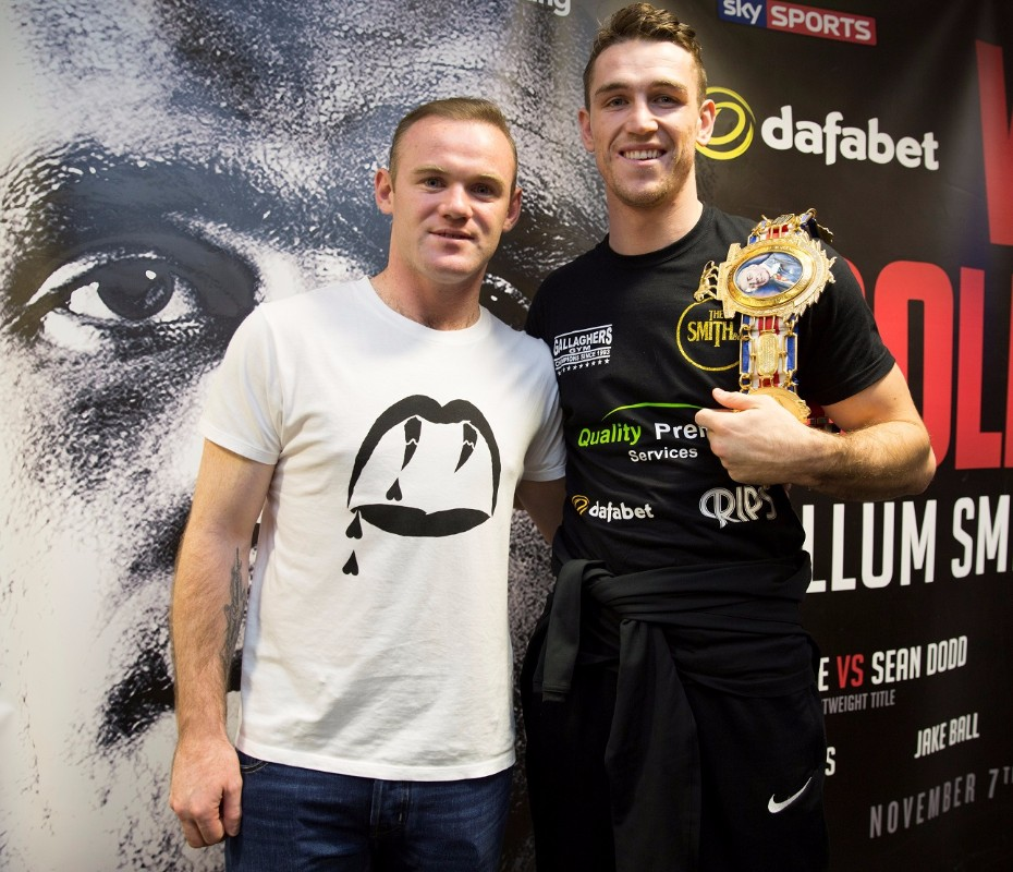 WAYNE ROONEY AND CALLUM SMITH