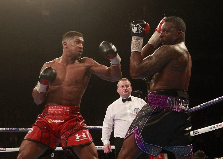 ANTHONY JOSHUA V DILLIAN WHYTE 12-12-2015at O2 LONDON PIC LAWRENCE LUSTIG