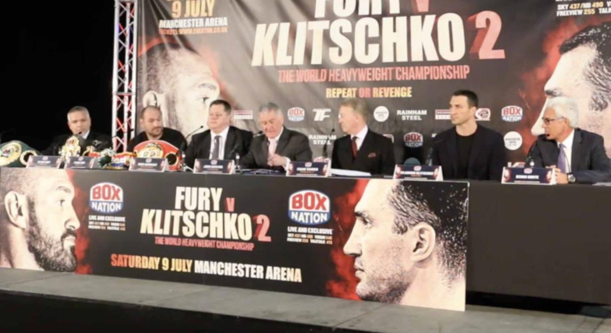 Klitschko Fury Video