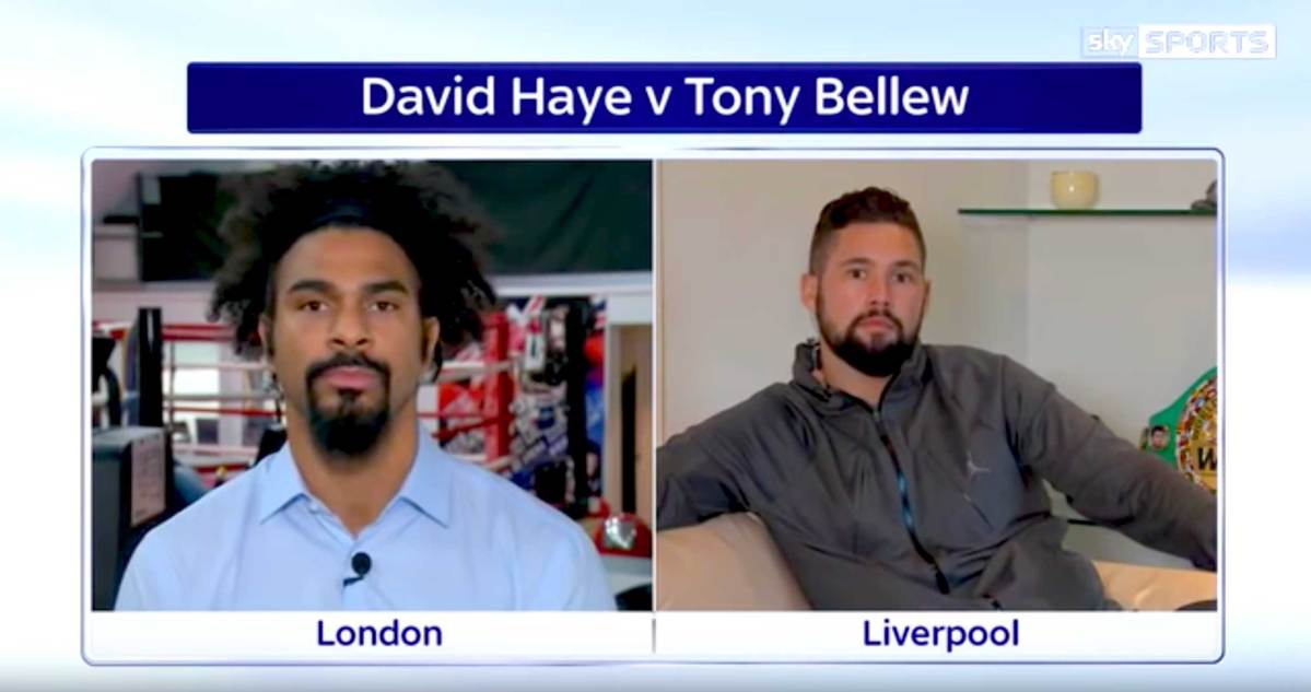 Betsafe to sponsor David Haye Vs Tony Bellew showdown