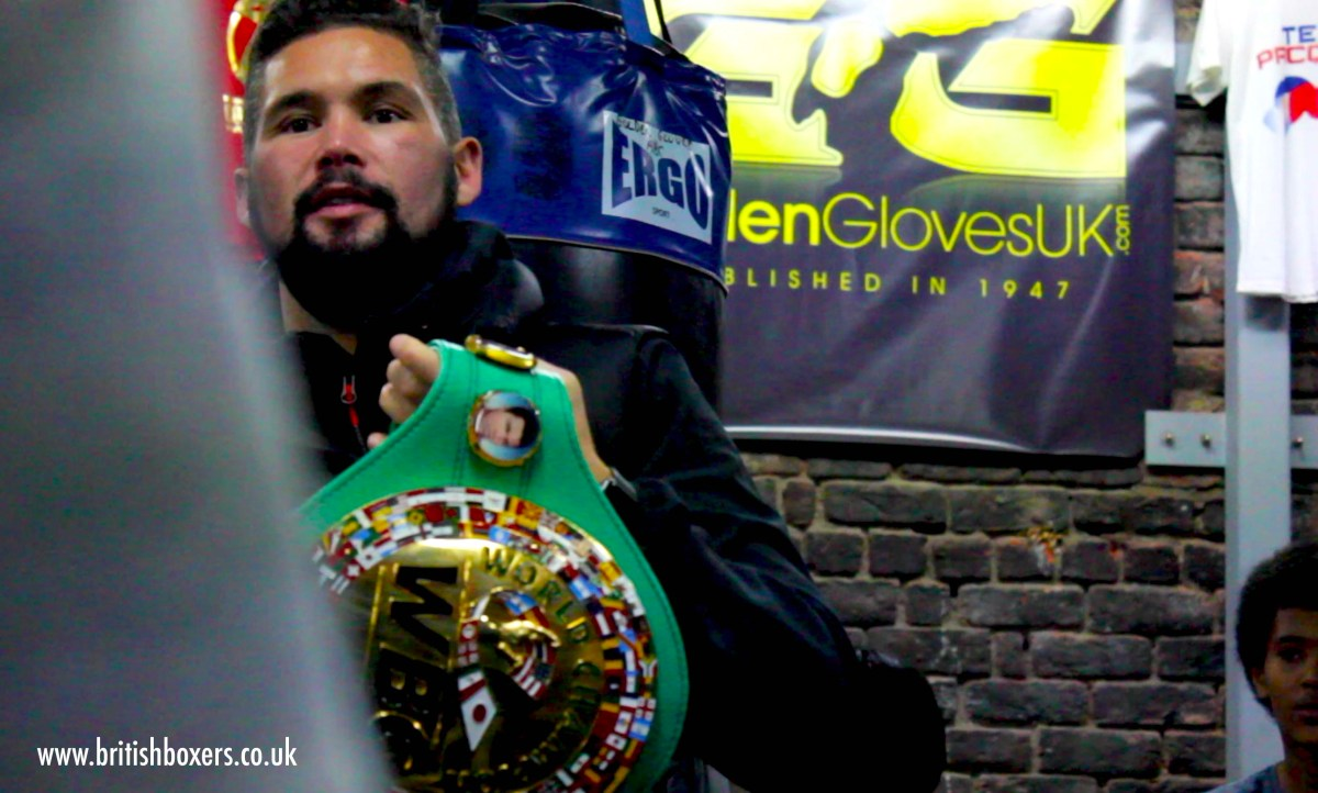 WBC 'designate Anthony Bellew as Emeritus Champion of the World'