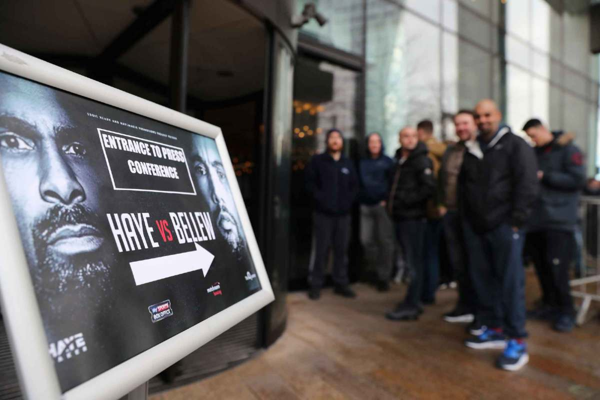 Haye-Bellew Press Conference Liverpool - Updates, Pics and Videos