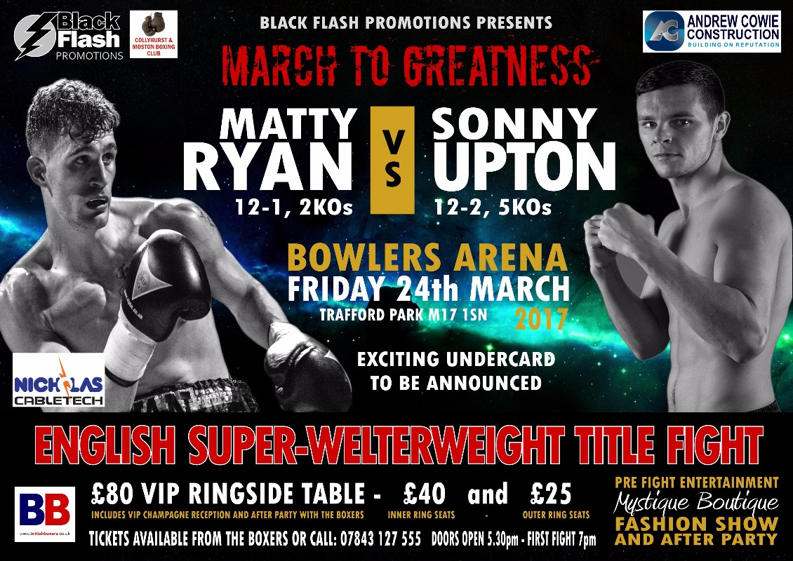 VIDEO: Matty Ryan and Sonny Upton both confident ahead of their English title clash