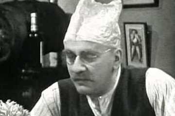 warren mitchell stars as alf garnet in the 1966 Till death Us Do Part Christmas Special