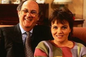 anton rodgers and lesley dunlop star in the BBC sitcom about a solicitor and his romance with a younger woman