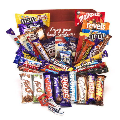 Brit Kit British Chocolate Selection The Magnificent 37