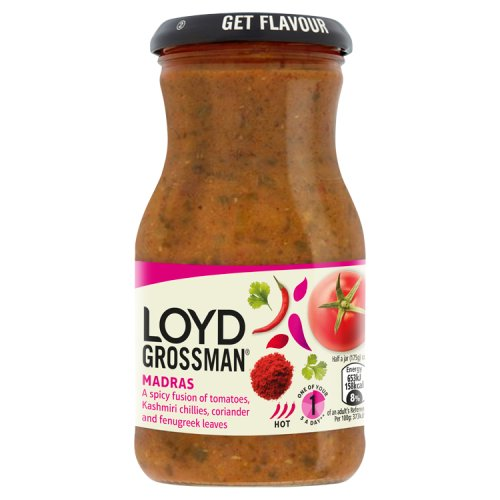 Loyd Grossman Madras Sauce - Indian Cooking