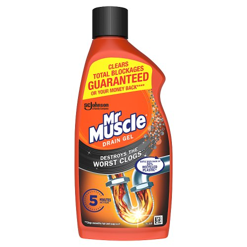 Mr Muscle Kitchen  Bathroom Drain Gel