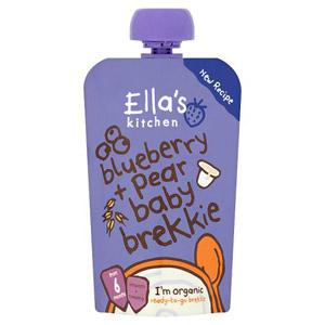 ellas kitchen baby food glazed cabinets and toddler british 6 month blueberry pear brekkie