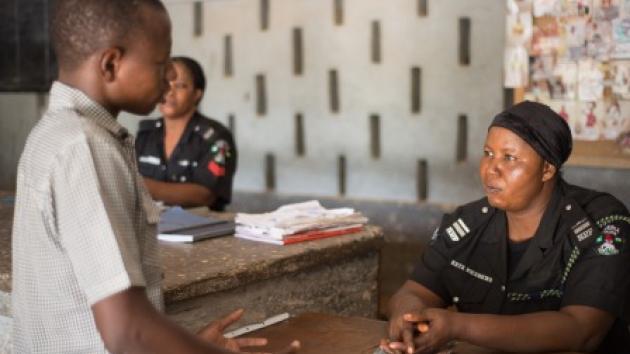 Image result for nigerian police station