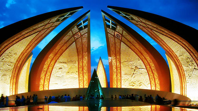 National Buildings of Pakistan