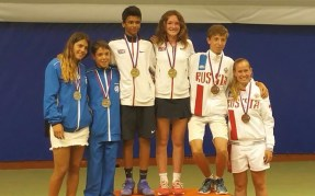 junior mixed doubles edtc