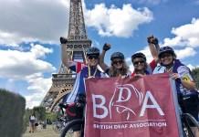 bike team bda flag eiffel tower