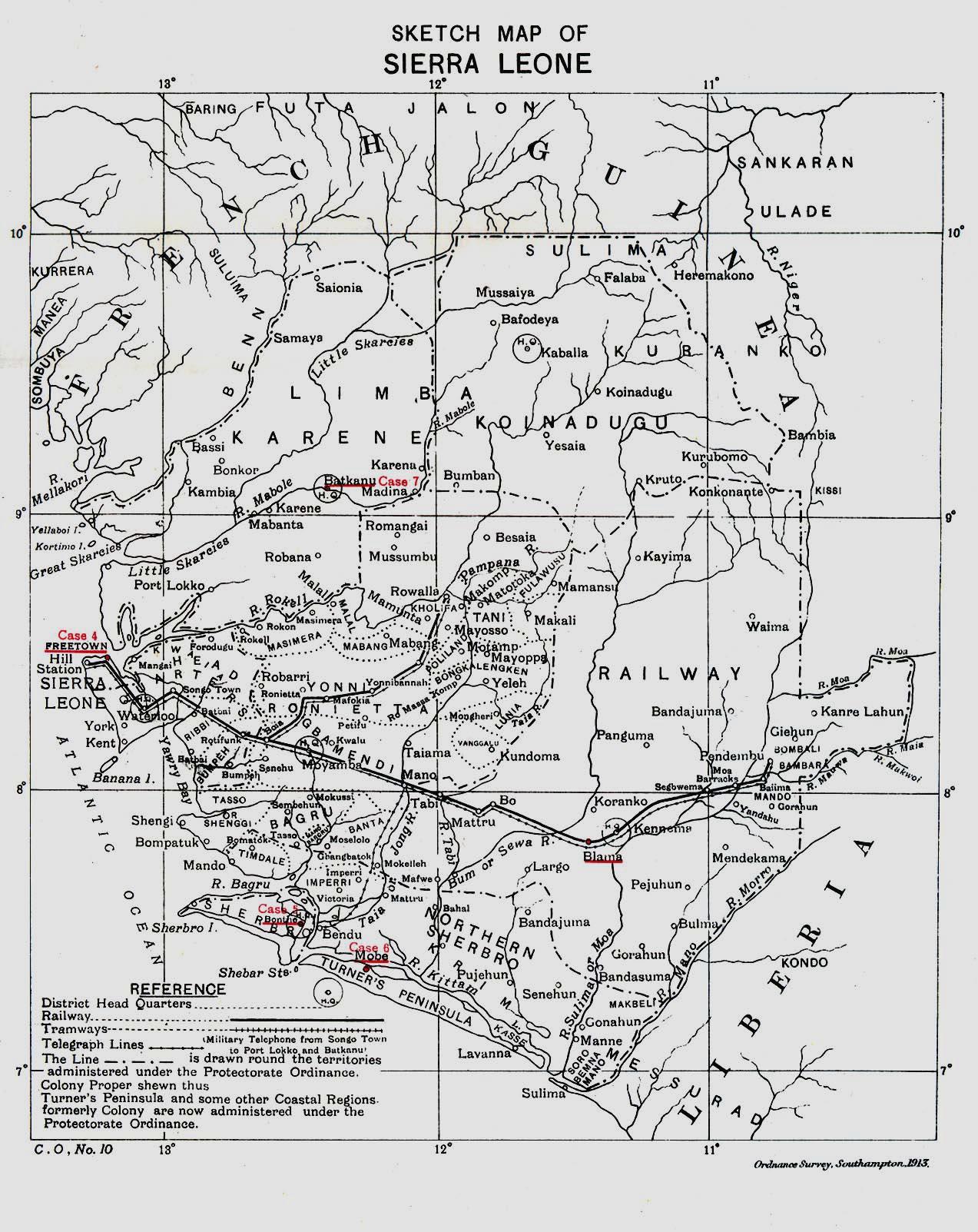 WHKMLA : History of Sierra Leone