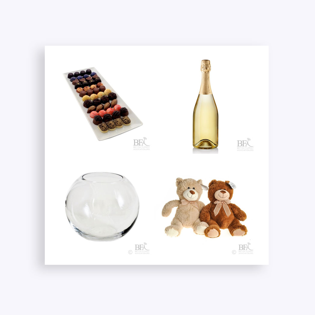 The BFA Collection Web Images – Additions (Chocolates, Bottles & Vases)