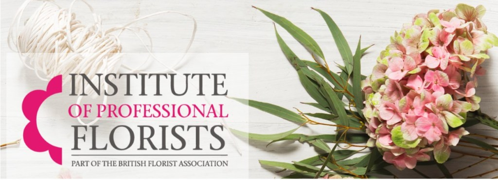 Institute of Professional floristry, logo.