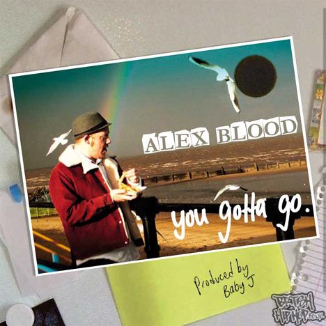"""Alex Blood - You Gotta Go 12"""" [White]"""