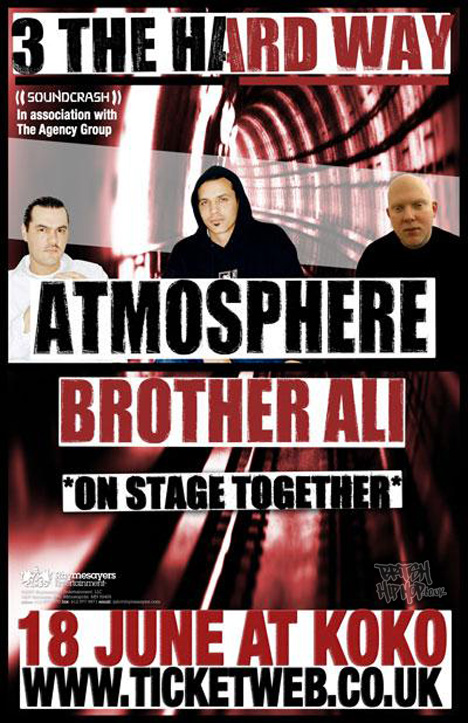 Atmosphere and Brother Ali Live At Koko 18th June