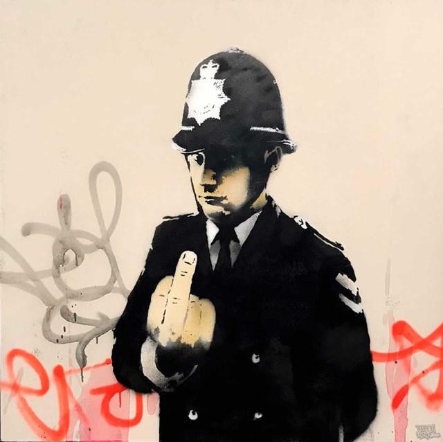 Banksy - Rude Copper