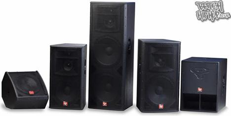 Cerwin Vega Speaker Range