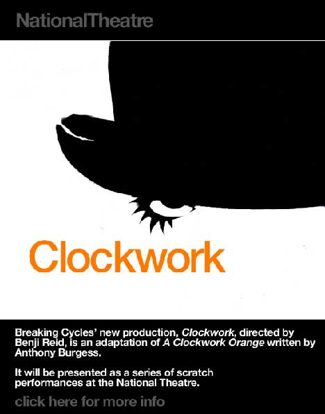 National Theatre: Clockwork