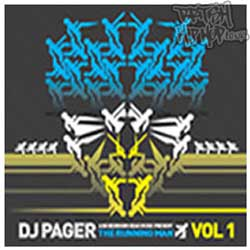 DJ Pager - The Running Man CD [Bedroomhead]