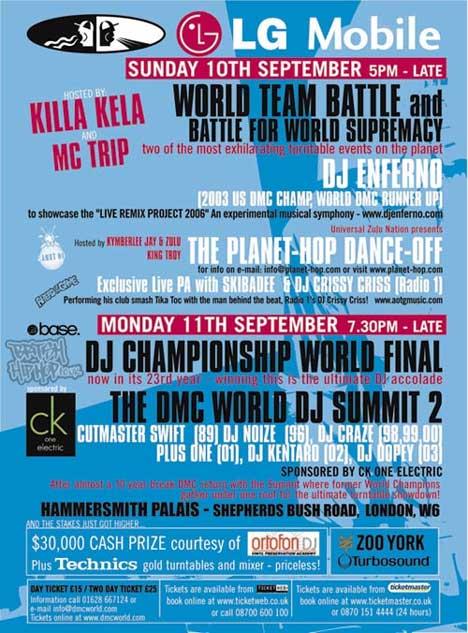 DMC World DJ Championships 2006