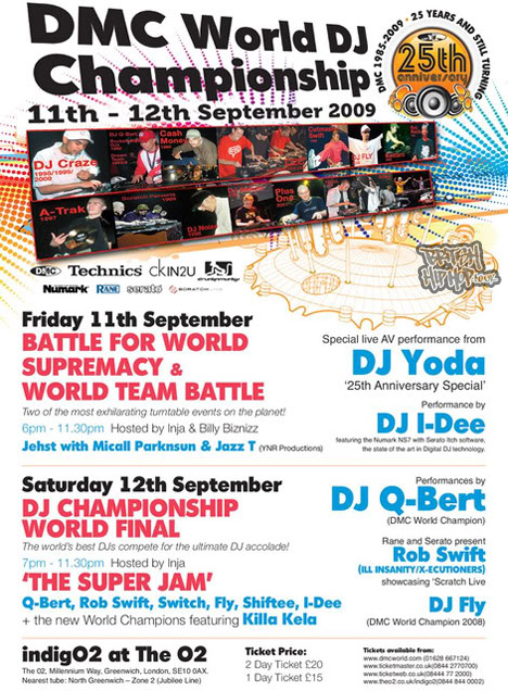 DMC DJ Champs World Finals - 25th Anniversary