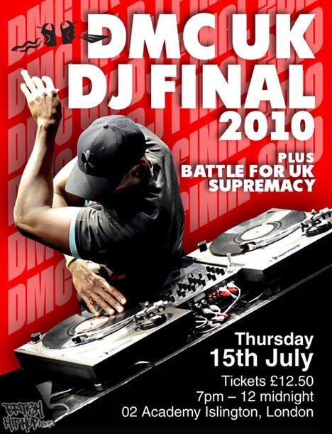 DMC UK DJ Final 2010 15th July, 02 Academy Islington