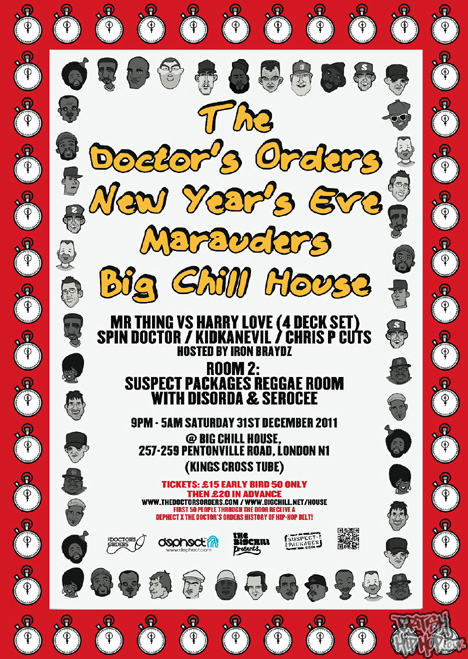 The Doctor's Orders - New Year's Eve Party