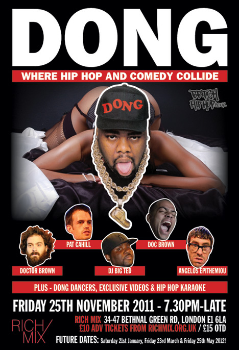 Dong: Hip Hop Comedy With Angelos Epithemiou, Jarred Christmas, Doc Brown And More