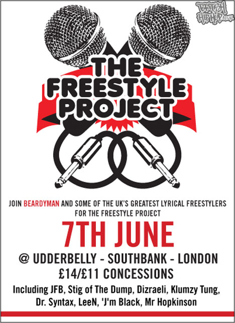The Freestyle Project Monday 7th June