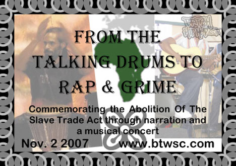 From The Talking Drums To Rap And Grime Concert