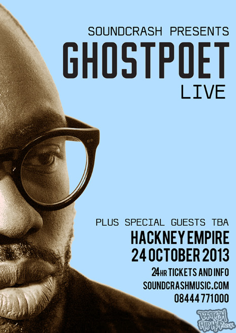 Ghostpoet Live At The Hackney Empire Thursday 24th October