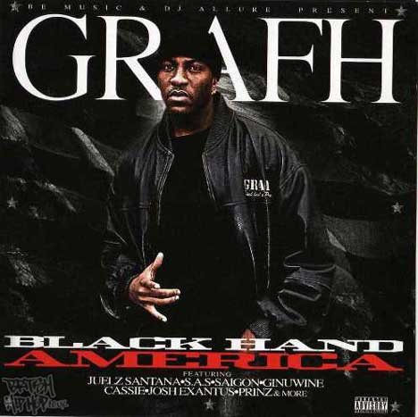 Be Music & DJ Allure Present Grafh - Black Hand America CD [S4DK]