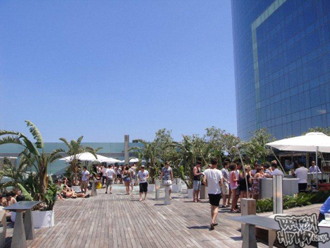Hot Natured Party At The W Hotel In Barcelona