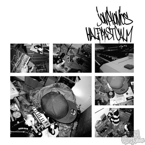 Jon Phonics - Half Past Calm CD [White]