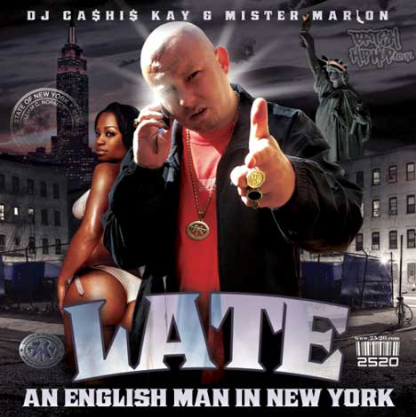 DJ Cashis Kay & Mister Marlon Presents Late - An English Man In New York CD [Wolftown]