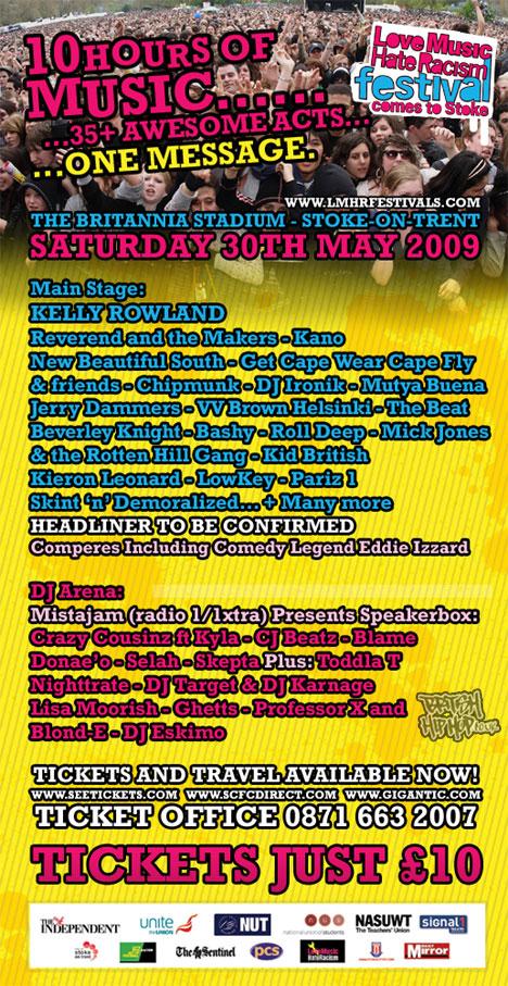 LMHR 2009 Flyer