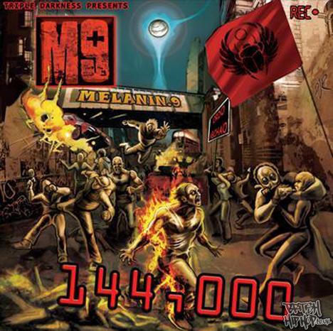 M9 - 144,000 LP [Dark Matter Records / Kilamanjaro]