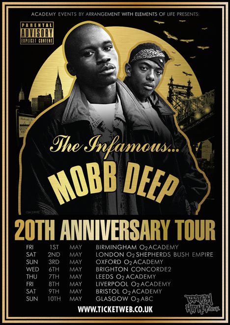 Mobb Deep - The Infamous 20th Anniversary UK Tour